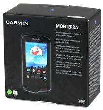 "Garmin Monterra 4"" LCD GPS Outdoor Handheld 1:100K Europe Topo Maps Android WiFi"