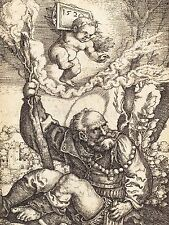 BARTHEL BEHAM GERMAN SAINT CHRISTOPHER OLD ART PAINTING POSTER PRINT BB4919A