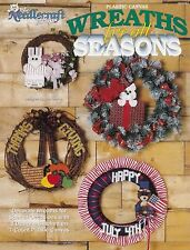 Wreaths for all Seasons, Plastic Canvas Pattern TNS 923347, Free 30 Day Layaway!