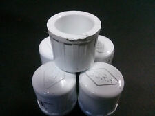"1/2 "" inch PVC schedule 40 Caps LOT of 5 Plumbing Sprinkler Fitting Made in USA"
