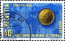 SWITZERLAND - SVIZZERA - 1954 - Serie di propaganda - Mondiale di calcio - 40 c.
