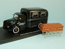 Eligor 1/43 scale HOTCHKISS PL20 / PL50 HEARSE with church truck & casket boxed