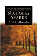 A Walk to Remember by Nicholas Sparks (1999, Hardcover)
