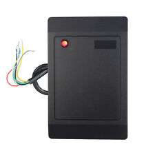 New Waterproof 125kHz Access Control RFID Card Reader WG26/34 Output +Track No.