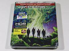 Ghostbusters Blu-ray (2016) 4K+3D+2D Steelbook [USA] OOS/OOP RARE