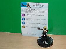 (Spanish) HEROCLIX MARVEL Uncanny X-Men - 012 Lady Mastermind
