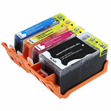 4 Black Ink Cartridges HP 920XL CD975AN for HP Officejet 6000 6500A 7000 7500A