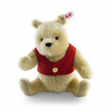 STEIFF Limited Edition Musical WINNIE THE POOH mohair Blond 20cm EAN 355004 New