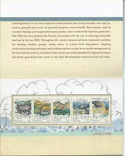 1992 Landcare Set 5 strip in Presentation Pack  MUH as Purchased at Post Office