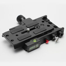 Dovetail Quick Release Plate Rapid Connector Base fr Camera Dolly Slider Crane