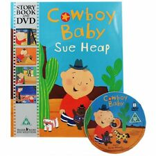 Cowboy baby book and story DVD NEW (A004)