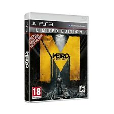 Metro Last Light Limited Edition Game PS3 Sony PlayStation 3 PS3 Brand New