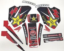 NEW Team Rockstar XR Honda Graphics XR80 XR80R XR100 XR100R 1985-2000