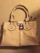 Chloé Paddington Large Shoulder Bag - Beige