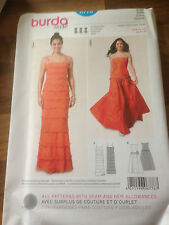 BURDA sewing pattern (6778) EVENING DRESS see photo for size