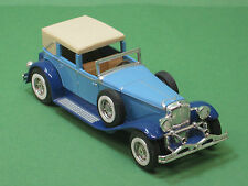 Y-4 Duesenberg Model J Town Car 1930 blau Matchbox 1:43 models of yesteryear MOY