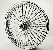 Fat Daddy 52 Mammoth Diamond Cut Spoke 21 X 3.5 Front Rim 00-07 Harley Touring