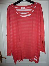 Hübscher  roter  Pullover von **Ulla Popken** Gr. 50/52