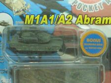 """CAN.DO  1:144 SCALE  """"MILITARY  M1A1/A2  ABRAMS  TANK""""   POCKET ARMY  #20041-F1"""