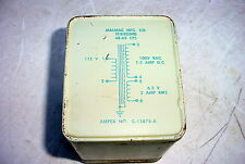 Malmac Ampex Potted Power Transformer 100V/ 1.5A  6.3V/2A