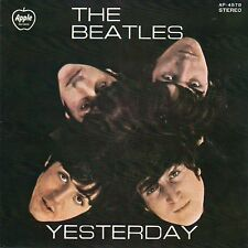The Beatles-Yesterday (Mint-)  Japanese import EP 4songs