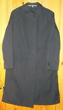Coat, All Weather, Woman's, Blue AF 1600 w/ Zip-out Faux Fur Lining, Size 10R