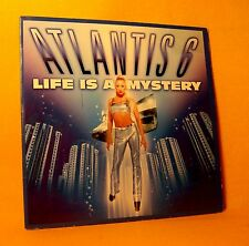 cardsleeve single CD ATLANTIS 6 Life Is A Mystery 2TR 1998 trance jumpstyle hard