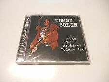 """Tommy Bolin """"From the archives vol. Two"""" 1998 TB Archive cd Printed in USA"""