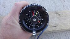 NOS 1965 1966 Ford Mustang GT RALLY PAC CLOCK Original custom deluxe