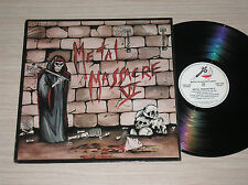METAL MASSACRE VI (POSSESSED, HIRAX, DARK ANGEL) - LP 33 GIRI U.S.A.