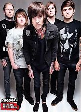 Star Poster For Bring Me The Horizon-BMTH Metalcore Band Art Silk Fabric 17 x13""