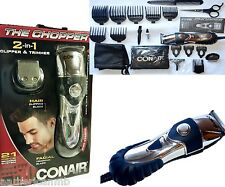 21pc Set 2in1 CHOPPER Conair HCT420RV Trimmer Clipper Hair Cutter Beard Facial