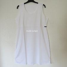BORIS INDUSTRIES  tolles Kurz Kleid Tunika Etui Kleid Lagenlook weiß 48 (5)