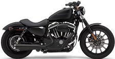 Cobra Exhaust PowerPro HP 2-TO-1 Black Harley Sportsters XL883N Iron 09-12 6441B