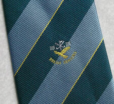 BREAN GOLF CLUB SENIORS TIE VINTAGE RETRO SOMERSET BLUE GREEN 1990s 2000s