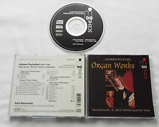 PACHELBEL Organ works WACHOWSKI - GERMANY CD MDG 606 0273-2 (1996) Mint