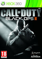 Call of duty black ops ii (2) XBox 360 * en excellent état *