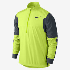 Nike Men's Sz S GOLF  Hyperadapt Shield Wind Wear 1/2 Zip Jacket Nwts 683068 702