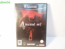 resident evil 4 FR nintendo gamecube game version FR