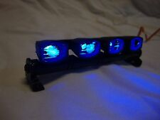 Traxxas Stampede / Rustler / Axial SCX10 LED Light Bar Roof Flood Lights - BLUE