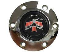 1967 1968 1969 Firebird Emblem with a Volante S6 Chrome Horn Button