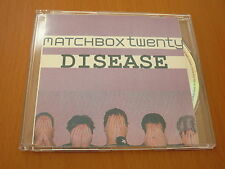 MATCHBOX 20 TWENTY - DISEASE - RARE AUSTRALIA PROMO CD SINGLE 1 TRACK ROB THOMAS