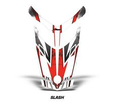 Ski Doo Rev XR GSX Summit Sled Sticker Decal Hood Graphic Kit 2013 SLASH - RED