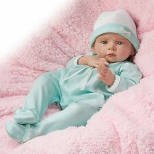 Ashton Drake Lifelike Baby Doll By Mayra Garza - PEYTON SO PRECIOUS SO PERFECT