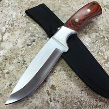 "9.5"" Rosewood Hunting Camping Fishing Survival Knife New w/Sheath 210915"