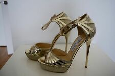 Brand New Jimmy Choo Deema Open Toe Platform Sandal Size 39