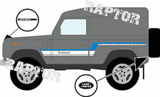 LAND Rover decalcomanie strisce 90 County Defender LANDROVER GRAFICA ADESIVI