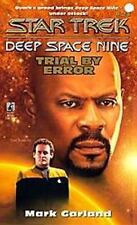 Trial by Error No. 21, Star Trek DS9: Mark Garland (1997 NEW PB 1st ed 1st print