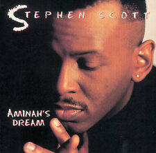Stephen Scott - Aminah's Dream (CD, Verve, AM) Ron Carter, Elvin Jones - NEW