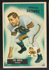 1955 BOWMAN #37 LOU GROZA CLEVELAND BROWNS FOOTBALL CARD NM